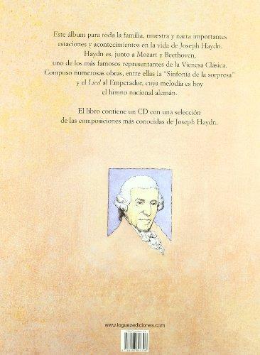 libro joseph haydn c/cd - nuevo