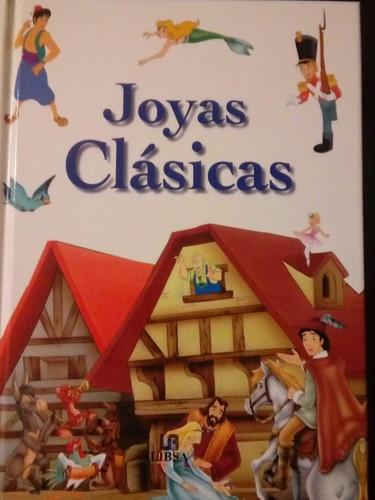 libro  joyas clásicas  ilustrado para niños.