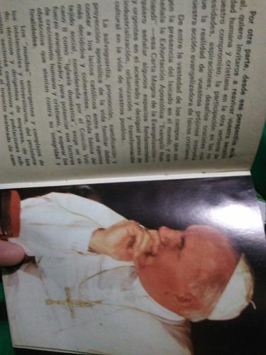libro juan pablo ii habla a méxico , sermones de la visita