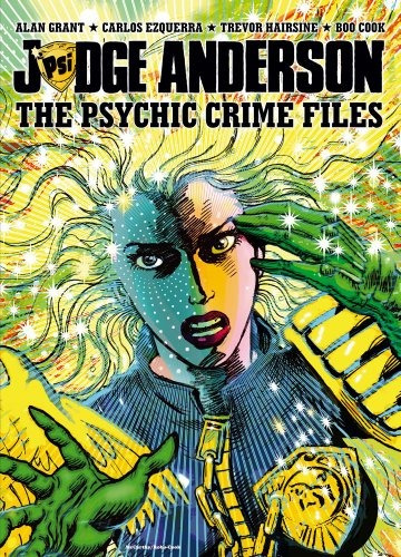 libro judge anderson: the psychic crime files - nuevo