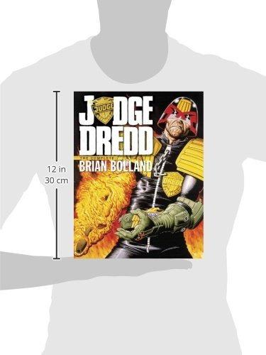libro judge dredd: the complete brian bolland - nuevo