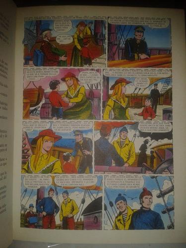 libro julio  verne un capitan de 15 años comics