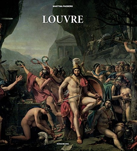 libro jumbo slim: louvre paintings - nuevo