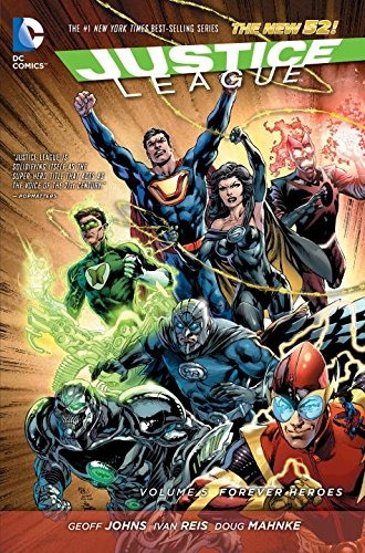 libro justice league: the new 52 5: forever heroes - nuevo