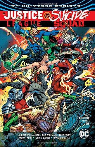 libro justice league vs. suicide squad - nuevo