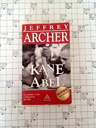 libro kane y abel de jeffrey archer.  u6