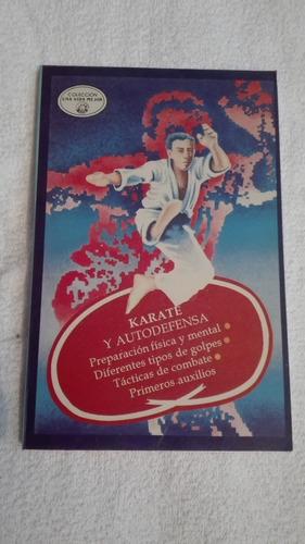 libro karate y autodefensa.