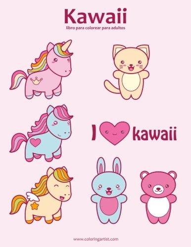 Libro : Kawaii Libro Para Colorear Para Adultos 1 (volume... - $ 859 ...