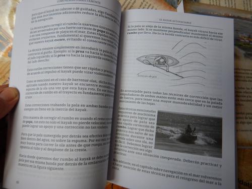 libro kayak autovaciable