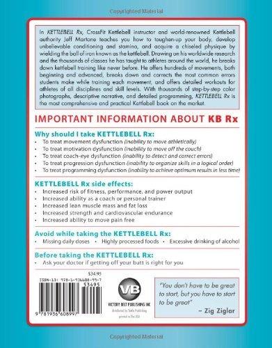 libro kettlebell rx: a more excellent way - nuevo