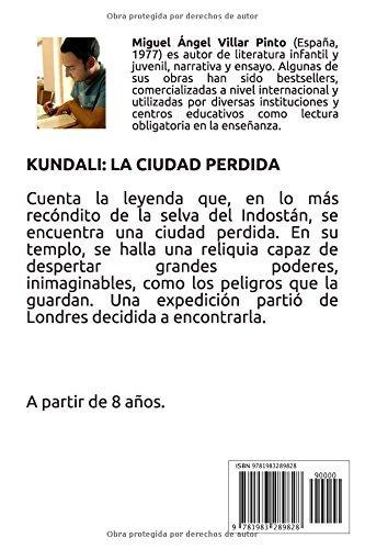 libro : kundali: la ciudad perdida  - villar pinto, migue...