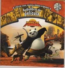 libro kunfu panda audiolibro musica voces historieta