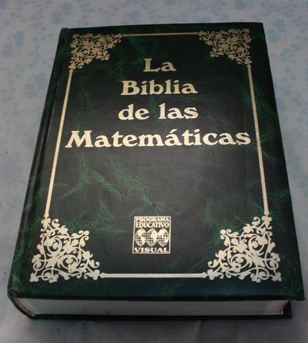 libro la biblia de las matemáticas. en perfecto estado