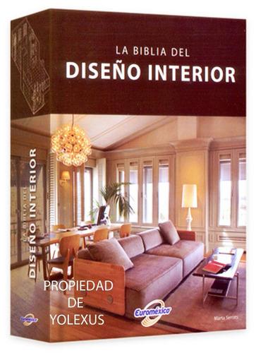 libro la biblia del diseño interior 1 volumen-original