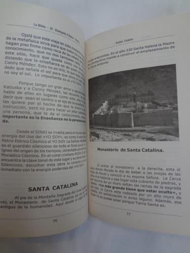 libro: la biblia. el evangelio cristiano. autor rubén cedeño