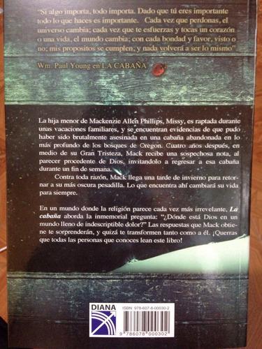 libro la cabaña + envio gratis