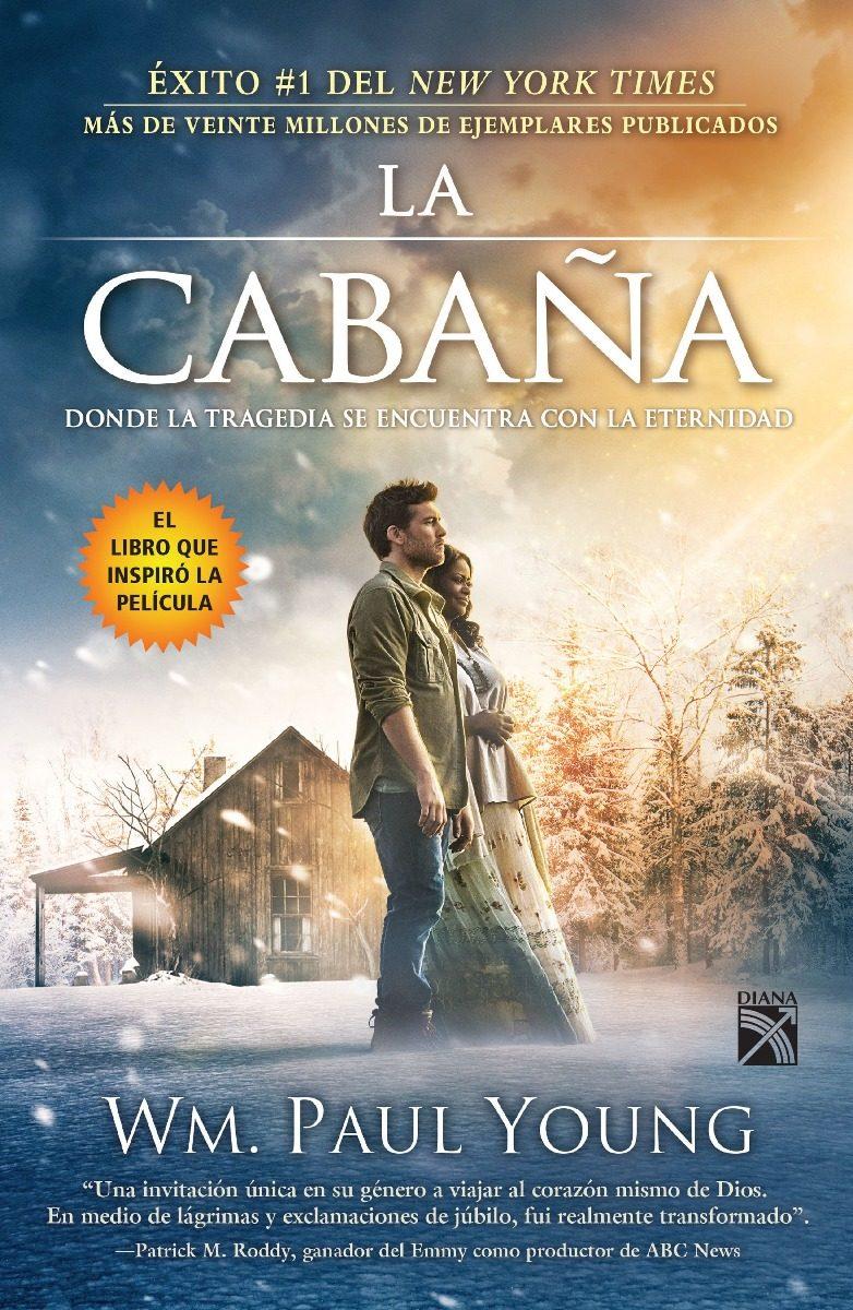 Libro La Cabaña Portada De La Película / Paul Young / Diana - $ 248.00 en Mercado Libre