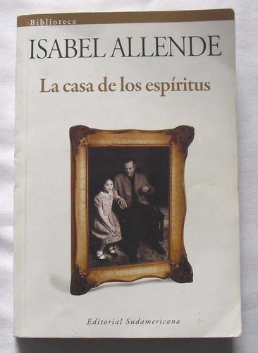libro la casa de los espiritus isabel allende. usado