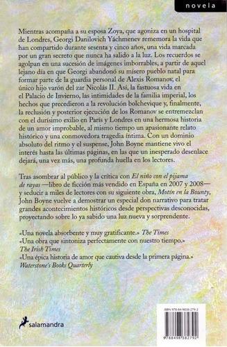 libro, la casa del propósito especial de john boyne.