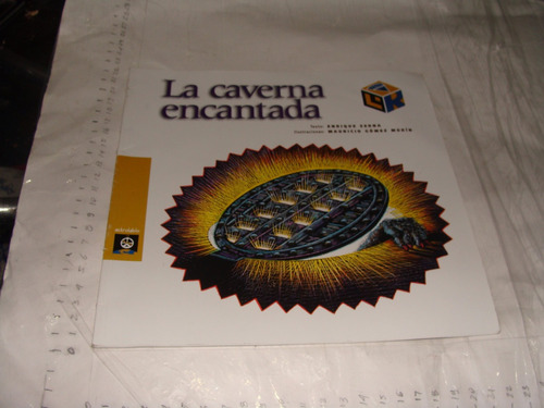 libro la caverna encantada , enrique serra , libros del rinc