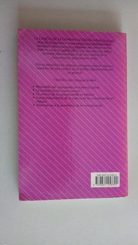libro: la ciencia de la comunicación en méxico, trillas