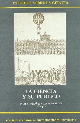 libro la ciencia y su público: perspectivas históricas