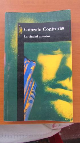 libro la ciudad anterior ( gonzalo contreras )