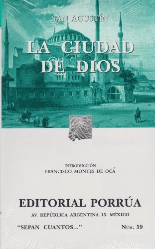 libro la ciudad de dios - nuevo