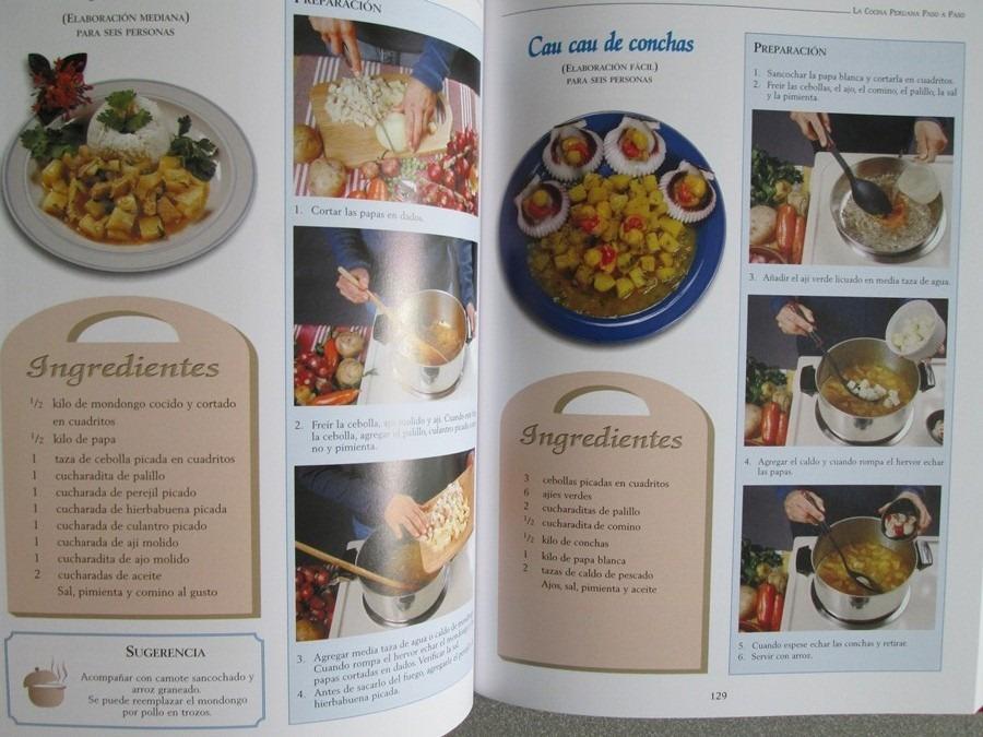 libro la cocina peruana paso a paso lexus en