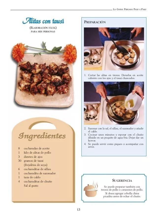 Libro La Cocina Peruana Paso A Paso Pdf 2 000 En Mercado Libre