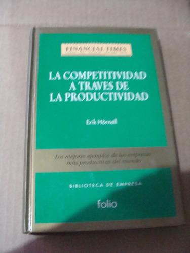 libro la competitividad a traves de la productividad , finan