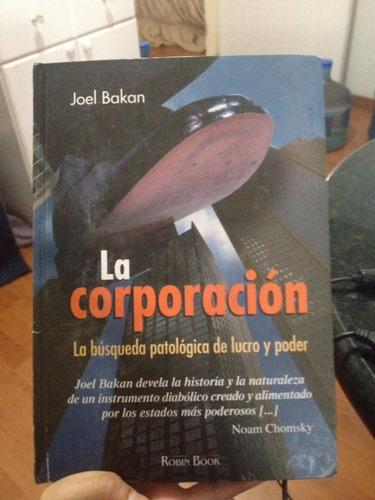libro la corporación joel bakan usado tapa dura