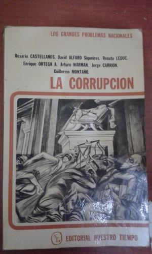 libro la corrupción varios autores