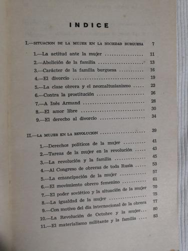 libro la emancipación de la mujer, marx, engels, lenin y otr
