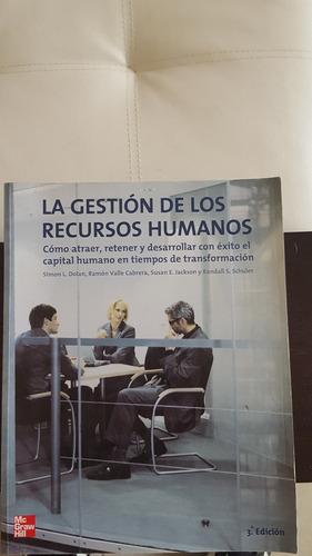 libro la gestión de los recursos humanos - simon dolan