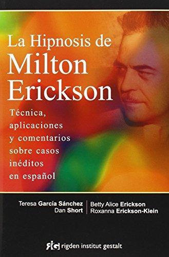libro la hipnosis de milton erickson - nuevo