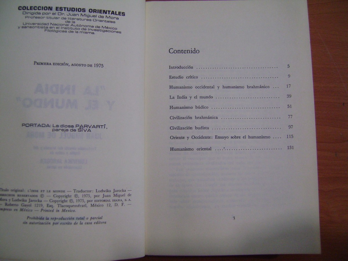 Libro La India Y El Mundo / Sylvain Levi - $ 100.00 en Mercado Libre
