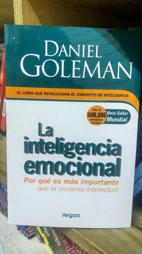 libro la inteligencia emocional- daniel goleman envio gratis