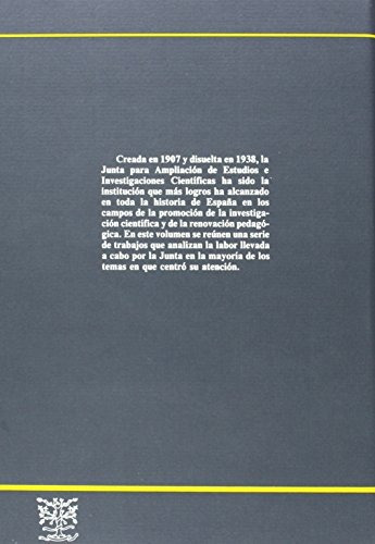 libro la junta para la ampliación de estudios e investigacio