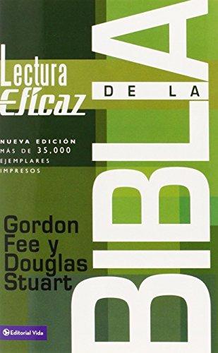 libro : la lectura eficaz de la biblia  - gordon d. fee