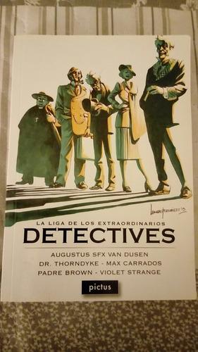 libro  la liga de los extraodinarios detectives