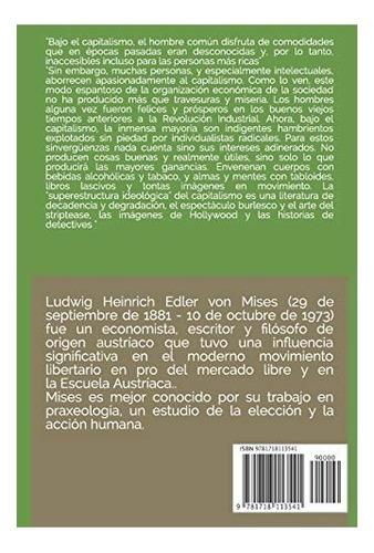 libro : la mentalidad anticapitalista  - von mises, ludwig
