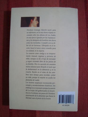 libro la mujer del gobernador - celia curatella