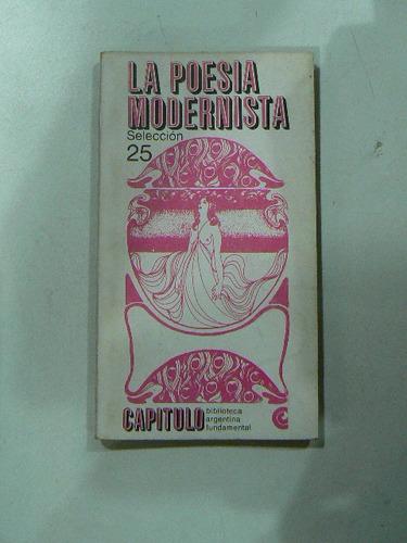 libro la poesia modernista seleccion 25 en la plata
