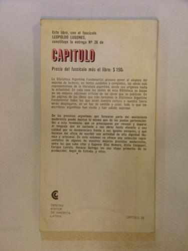 libro la prosa modernista seleccion 26 en la plata