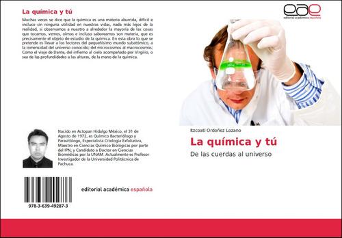 libro la química y tú divulgación científica
