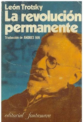 libro, la revolución permanente de león trotsky.