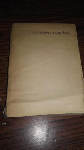 libro la señora ordoñez