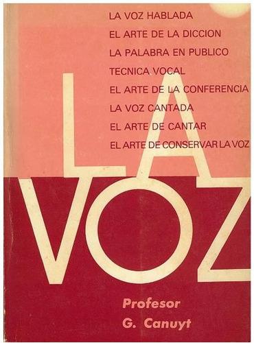 libro, la voz de profesor g. canuyt