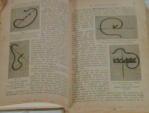 libro labores ganchillo, bordados,tejido,crochet, macrame